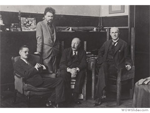 Joyce, Pound, Ford, Quinn